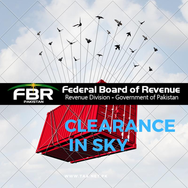 Clearance-In-Sky-Pakistan-customs-FBR