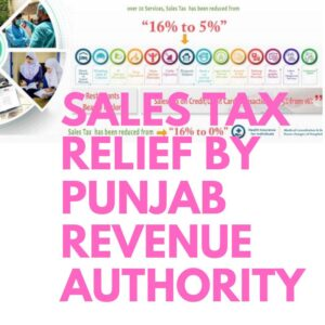 Sales-Tax-Relief-Punjab-Revenue-Authority